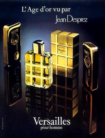 1980 году создаётся мужской аромат Versailles pour Homme Jean Desprez во флаконе от Pierre Dinand