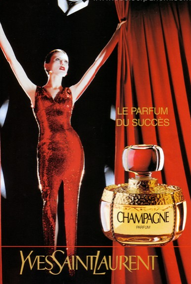 Champagne Yves Saint Laurent  купить, купить винтажные духи Шампань Ив Сен Лоран, духи Шампань, духи