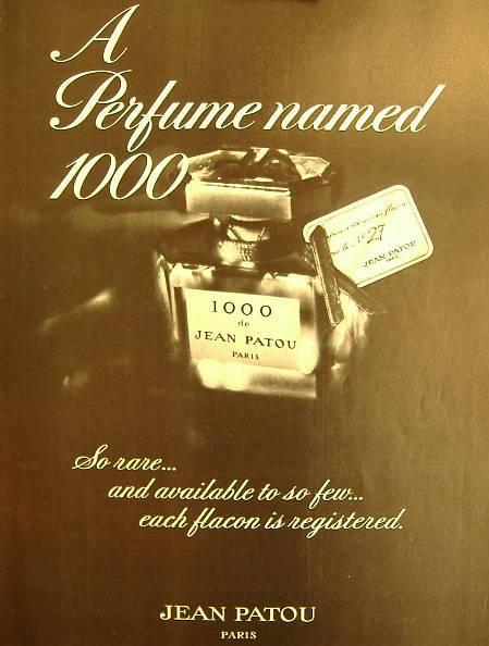 Jean Patou 1000 Жан Пату Тысяча Миль perfume духи парфюм туалетная вода винтажная парфюмерия +купить