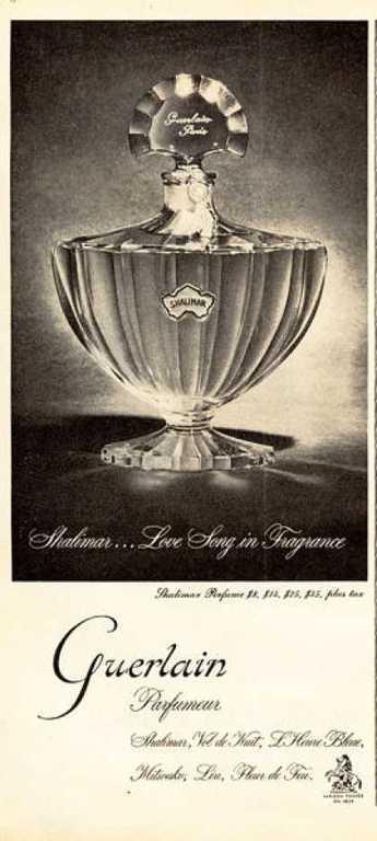 Guerlain Shalimar Perfume Bottle1953
