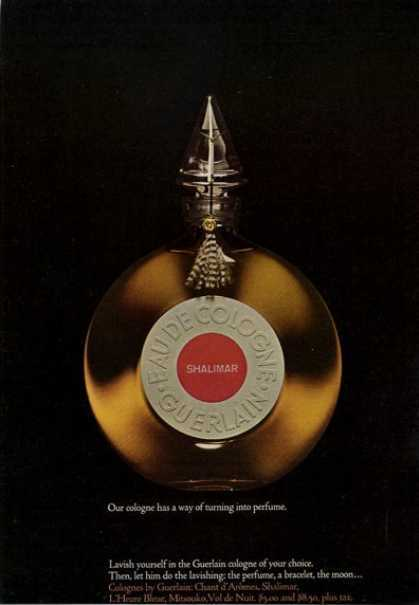 Guerlain Shalimar Bottle 1965