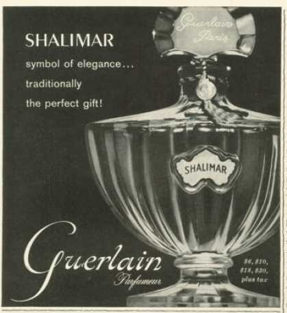 Guerlain Shalimar Perfume Bottle Photo 1959