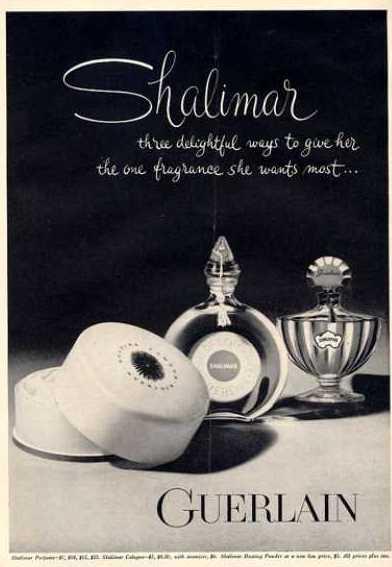 Guerlain Shalimar Perfume Bottle 1964
