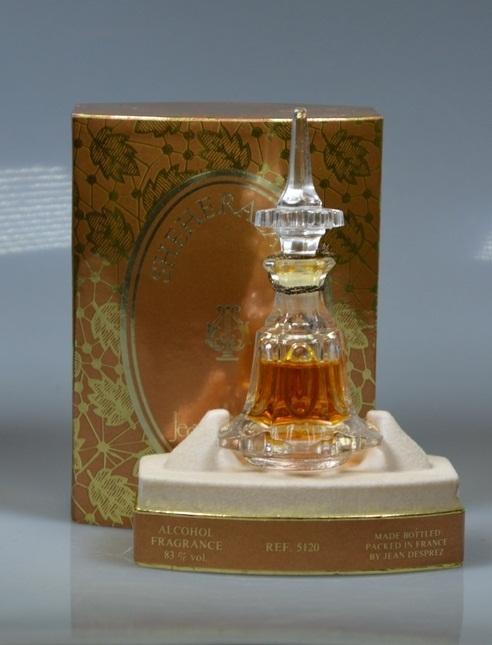 Экспозиция Московского музея парфюмерии,  Sheherazade Jean Desprez, Шахерезада Жан Депре