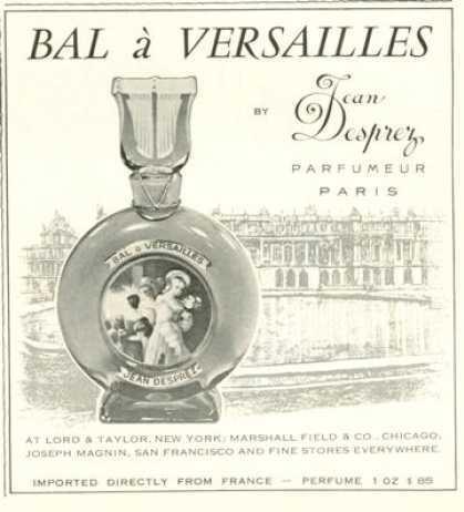 Bal A Versilles Jean Desprez духи Бал в Версале Жан Депре Версальский парфюм винтажные духи +купить